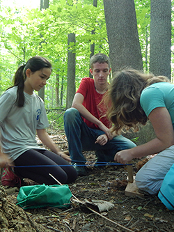 survival skills summer camp