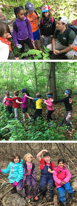 earthworks nature explorers fall forest school